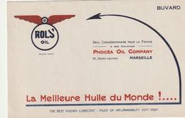 Rols Oil Phocea Oil Company  67 , Cours Lieutaud Marseille - Brandstoffen