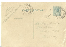 MONACO GS 1908NACH BERLIN - Covers & Documents
