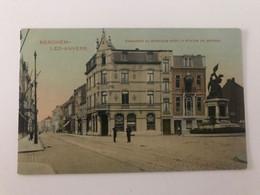 Carte Postale Ancienne BERCHEM-LEZ-ANVERS Chaussée De Berchem Avec La Statue De Mérode - Antwerpen