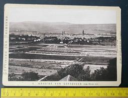Ansicht Von Göttingen Und Umgebung Vom Rhons Aus - Luoghi