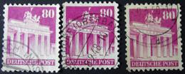 Germany -American And British Occupation Zones-1948-Mi:DE 94wg, Sn:DE 655, Yt:DE-BIZ 62 O-different Colours - Look Scan - Zona Anglo-Americana