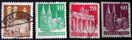 Germany -American And British Occupation Zones-1948-Mi:DE 74,80,84,93 O - Look Scan - Zona Anglo-Americana
