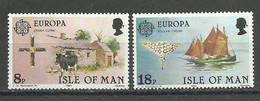 Isle Of Man; 1981 Europa MNH - Isola Di Man