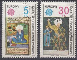 CYPRUS - CIPRO NORD Amministrazione Turca - 1980 - Serie Completa Obliterata: Yvert 73/74; 2 Valori, Europa. - Usados