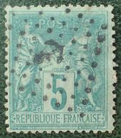 R1311/42 - SAGE TYPE II N°75 - Oblitération Du Jour De L'an - ANCRE - 1876-1898 Sage (Type II)