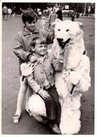 Photo Originale Eisbär, Déguisement D'Ours Blanc Polaire & Ses 2 Copains Aux Papouilles Par Erich Franke Berlin - Anonymous Persons
