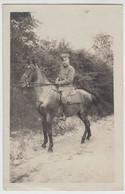 (F16234) Orig. Foto Deutscher Soldat 1.WK Auf Pferd, L.I.R. 83, 1918 - Guerra, Militari