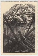 (F1626) Orig. Foto 2.WK, Zerstörtes Kirchgebäude, 1940er - Guerra, Militari
