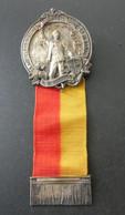 Medaille Mittelrheinisches Kreis Turnfest Hanau 1906 - Non Classificati