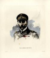 Print 1920 France Fleet French Navy Admiral Jules-Théophile Docteur - Prints & Engravings