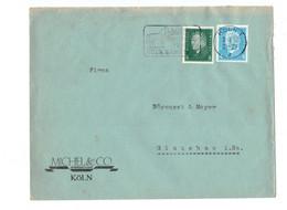 Perfin !!! - DR Brief Köln Nach Glauchau - O 1932 - Michel & Co. AG - Covers & Documents