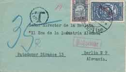 ECUADOR  - 1957  ,  Brief Nach Berlin Mit Tax-Stempel - Equateur