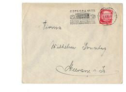 Perfin !!! - DR Brief Königsberg Nach Meerane - O 1935 - Modehaus Fritz Jahnke Vorm. Sommerfeld - Covers & Documents