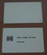 90P RRR Poland Test Card - Schlumberger - Polonia - Run 70 (seventy Pieces) ! - Polen