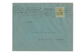 Perfin !!! - DR Brief Hannover Nach Meerane - O 1921 - Continental Caoutchouc Und Gutta Percha Compagnie - Covers & Documents
