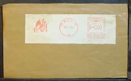 Belgium - Advertising Meter Franking Cut EMA 1964 Halle Bird Eagle - 1960-79