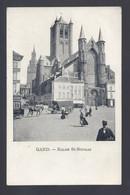 Gand - Eglise St-Nicolas - Postkaart - Gent