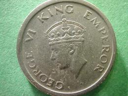India 1 Rupee 1947  Silver - India