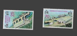 FD Nouvelles-Hébrides / New Hebrides ** 1973 366/367 Nouveau Quai De Port Vila - Zonder Classificatie