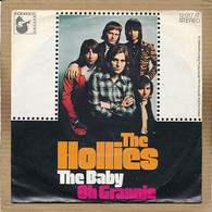 """7"""" Single, The Hollies - The Baby - Disco, Pop"""