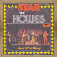 "7"" Single, The Hollies - Star - Disco, Pop"