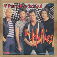 """7"""" Single, The Hollies - If The Lights Go Out - Disco, Pop"""