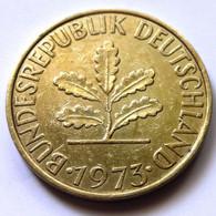 Germany 1973-J - 10 Pfennig [KM# 108] - 10 Pfennig