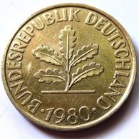 Germany 1980-G - 10 Pfennig [KM# 108] - 10 Pfennig