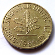 Germany 1981-J - 10 Pfennig [KM# 108] - 10 Pfennig