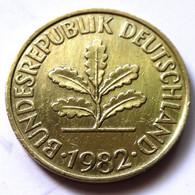 Germany 1982-F - 10 Pfennig [KM# 108] - 10 Pfennig