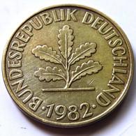 Germany 1982-G - 10 Pfennig [KM# 108] - 10 Pfennig