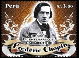 Peru 2010, 200th Birthday Of Chopin, MNH Single Stamp - Peru