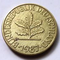 Germany 1987-G - 10 Pfennig [KM# 108] - 10 Pfennig