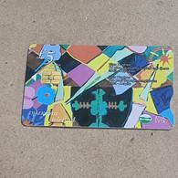 "CYPRUS-(1302CY)-Glyn Hunhes-""the Past Trough-(180)-(5£)-(6/2002)-(1302CY08862462)-used Card+1card Prepiad Free - Cyprus"