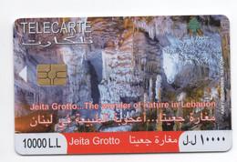 Jeita Grotto 2009 Used Phonecard, Lebanon , Liban Telecarte Libanon - Libanon