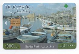 Saida Port 2008 Used Phonecard, Lebanon , Liban Telecarte Libanon - Libanon