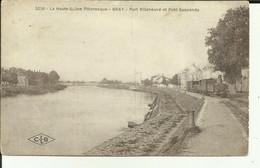 70 - Haute Saone - Gray - Port Villeneuve - Pont Suspendu - Tacot - CFV - Tramway - Locomotive - - Gray