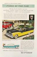 Publicité Papier VOITURE FORD FAIRLANE Feb 1955 NG P1051117 - Pubblicitari