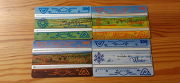 Phonecard Set Austria - Four Seasons - Oostenrijk