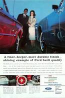 Publicité Papier VOITURE FORD Jan 1963 NG P1050908 - Pubblicitari