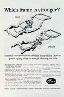 Publicité Papier VOITURE FORD June 1961 NG P1050871 - Pubblicitari