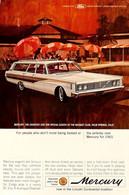 Publicité Papier VOITURE FORD MERCURY Mar 1965 NG P1051382 - Pubblicitari