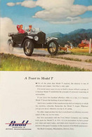 Publicité Papier VOITURE FORD MODEL T BUDD Sept 1953 NG P1051137 - Pubblicitari