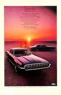 Publicité Papier VOITURE FORD THUNDERBIRD Feb 1968 NG P1051367 - Pubblicitari