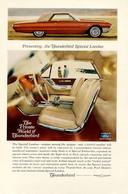 Publicité Papier VOITURE FORD THUNDERBIRD Mar 1965 NG P1051388 - Pubblicitari