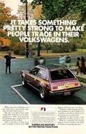 Publicité Papier VOITURE GREMLIN AMC Mar 1972 NG P1051319 - Pubblicitari