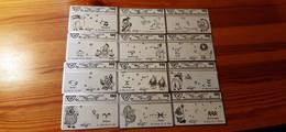 Phonecard Set Austria - Zodiac, Horoscope - Oostenrijk