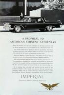 Publicité Papier VOITURE IMPERIAL CROWN  June 1962 NG P1050921 - Pubblicitari