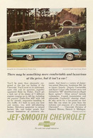 Publicité Papier VOITURE JET-SMOOTH CHEVROLET May 1963 NG P1051045 - Pubblicitari