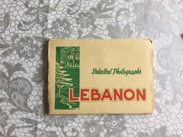 POSTCARD   Lebanon  PHOTO SPORT BEIRUT 10 PIECE POSTCARD 10 STÜCK POSTKARTE AK OLD POSTCARD - Lebanon
